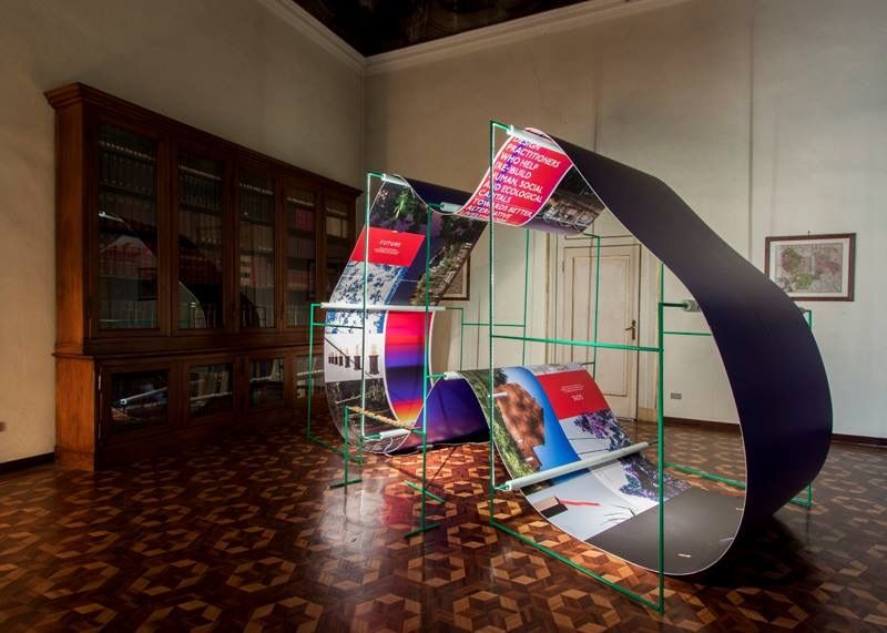 We are wanderful, Milan launch/installation of a book