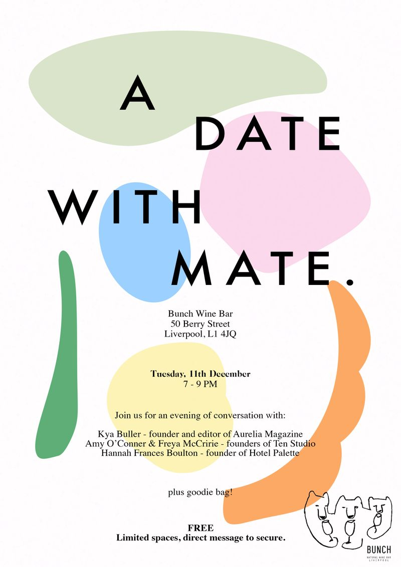 A Date with Mate. Podcast Live Event