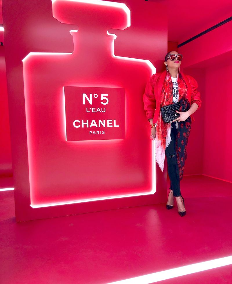 Chanel No. 5 X We Love Coco