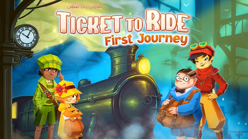 Ticket to Ride Animation