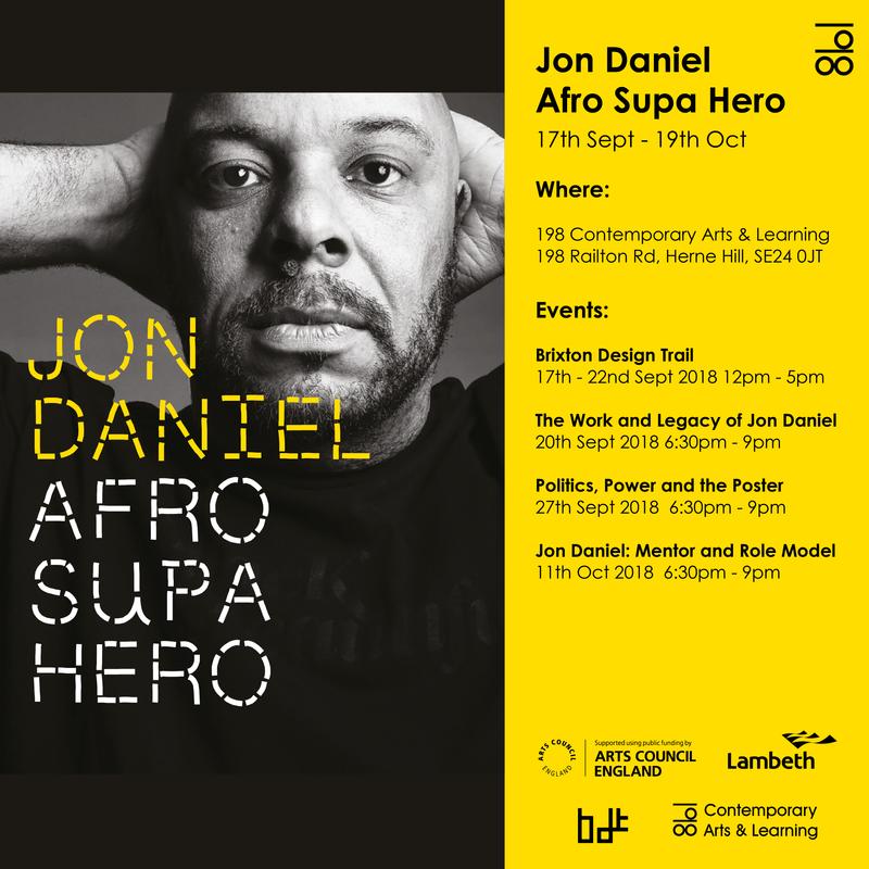 Jon Daniel Afro Supa Hero