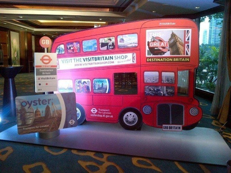 Launch and promotion of Visitor Oyster card at Destination Britain APMEA event, Bangkok