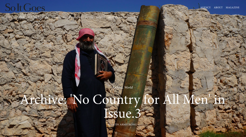 No Country For All Men