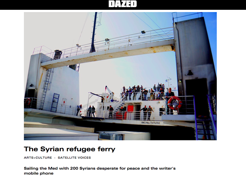 The Syrian Refugee Ferry