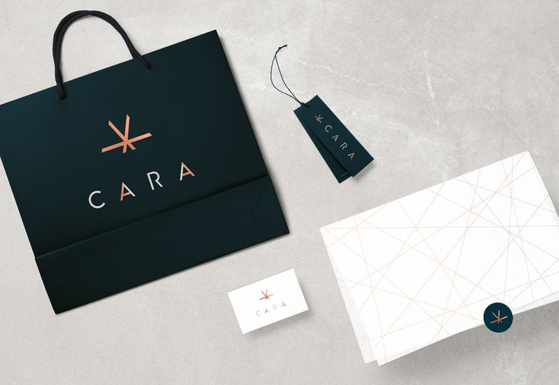 Cara Shoes Rebrand