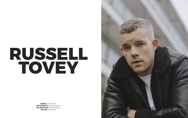 Russell Tovey for DOG MAGAZINE