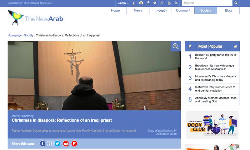 Christmas in diaspora: Reflections of an Iraqi priest