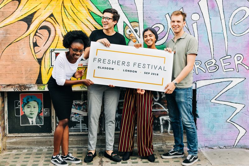 Freshers Festival 2018 Branding