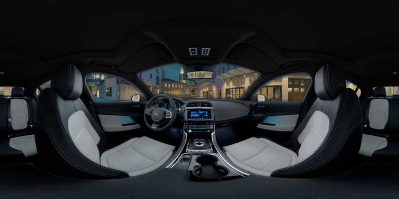 Jaguar XE 360 Car Interior