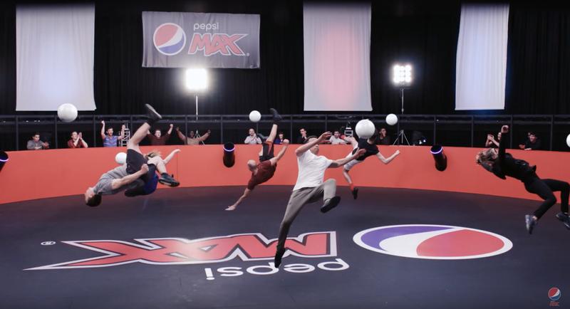 Pepsi Max 360 Volley