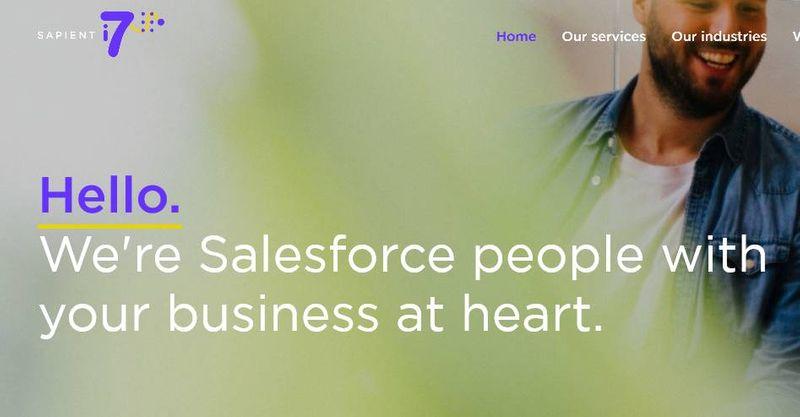 Sapient i7 - copy and brand strategy
