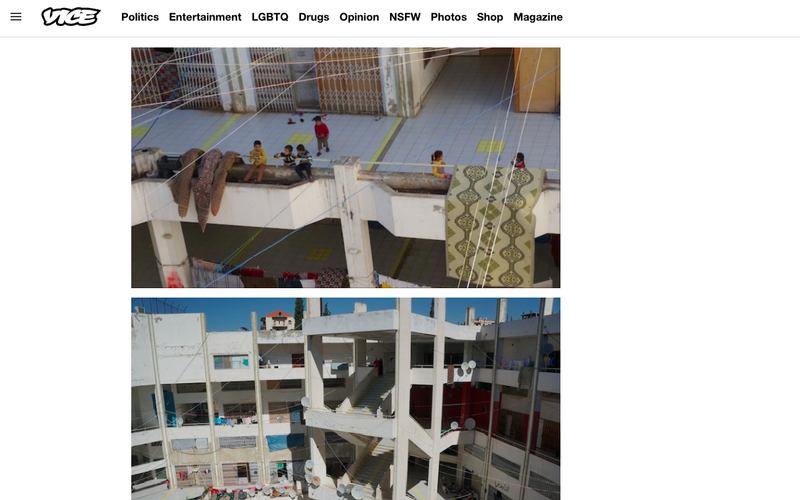 The Syrian Refugees Living in an Abandoned Lebanese Shopping Mall