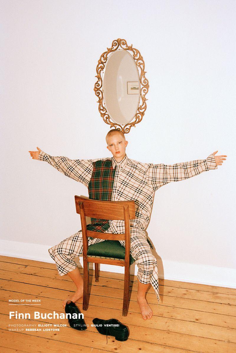 Styling work with Finn Buchanan, Models.com