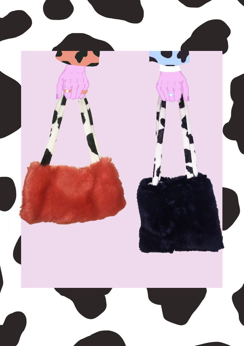 Faux Fur Dream Bags
