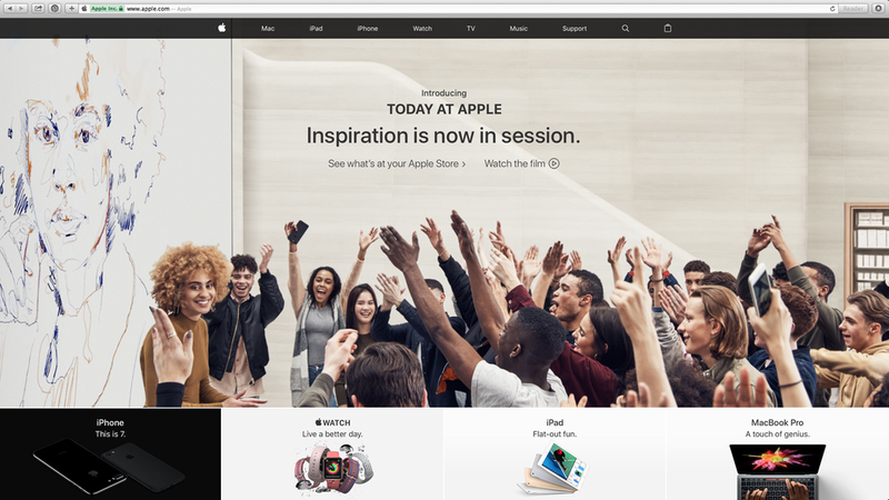 Today At Apple - global campaign