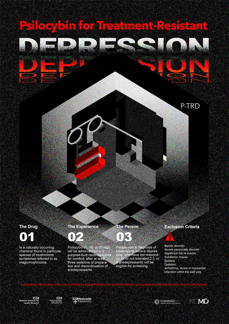 Poster Design for Psilocybin.