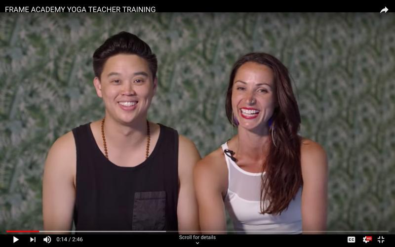 Frame Academy Yoga Teacher Training