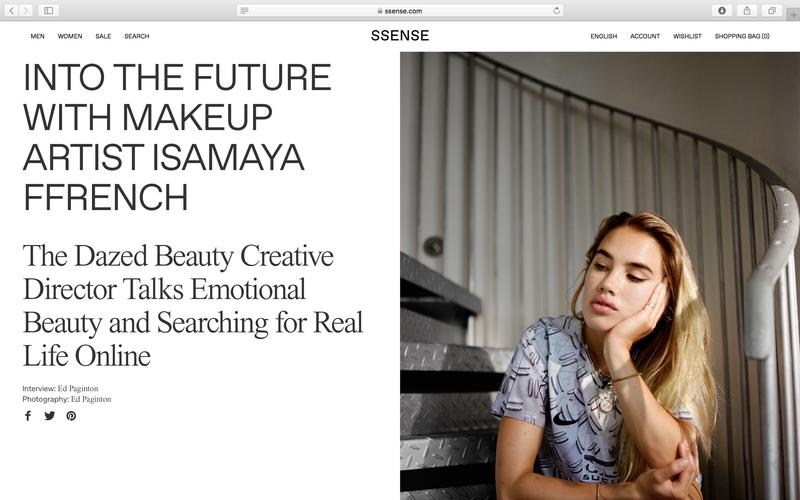 Isamaya Ffrench – SSENSE