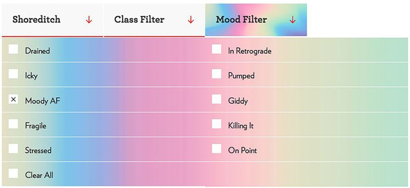 The Frame Mood Filter