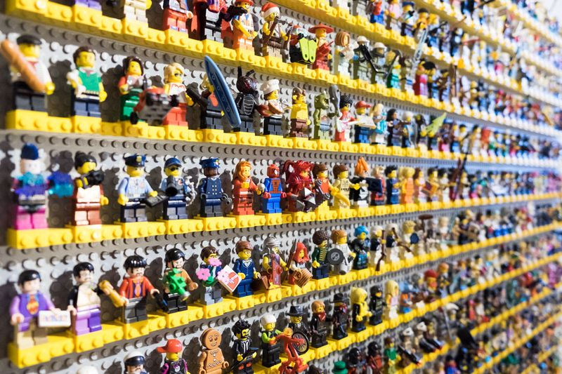My LEGO Wall