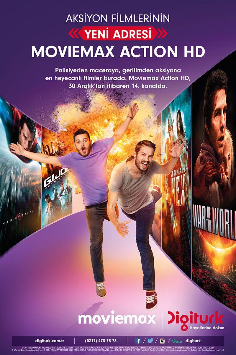 Digiturk Moviemax Campaign