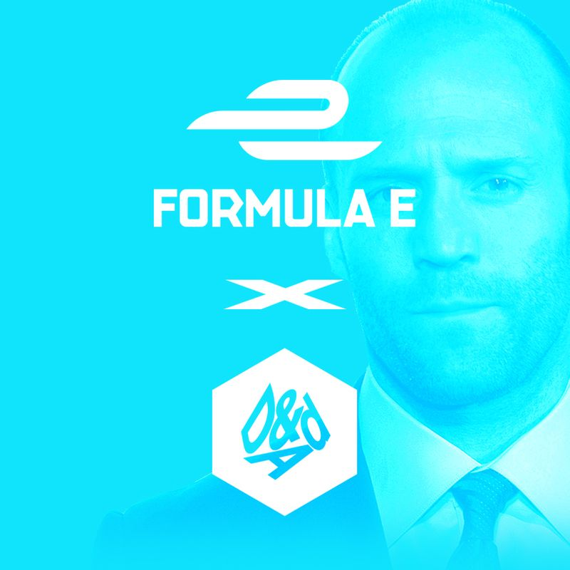Formula-E x D&AD storyboard design