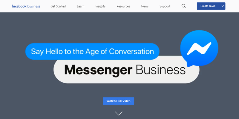 Facebook Messenger for Business - EMEA Campaign