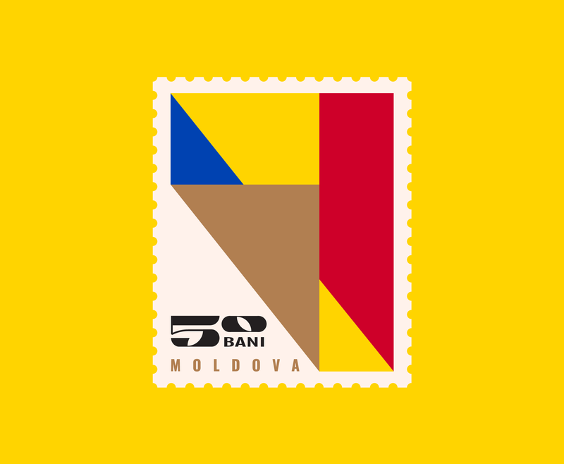 Moldova Post Stamps