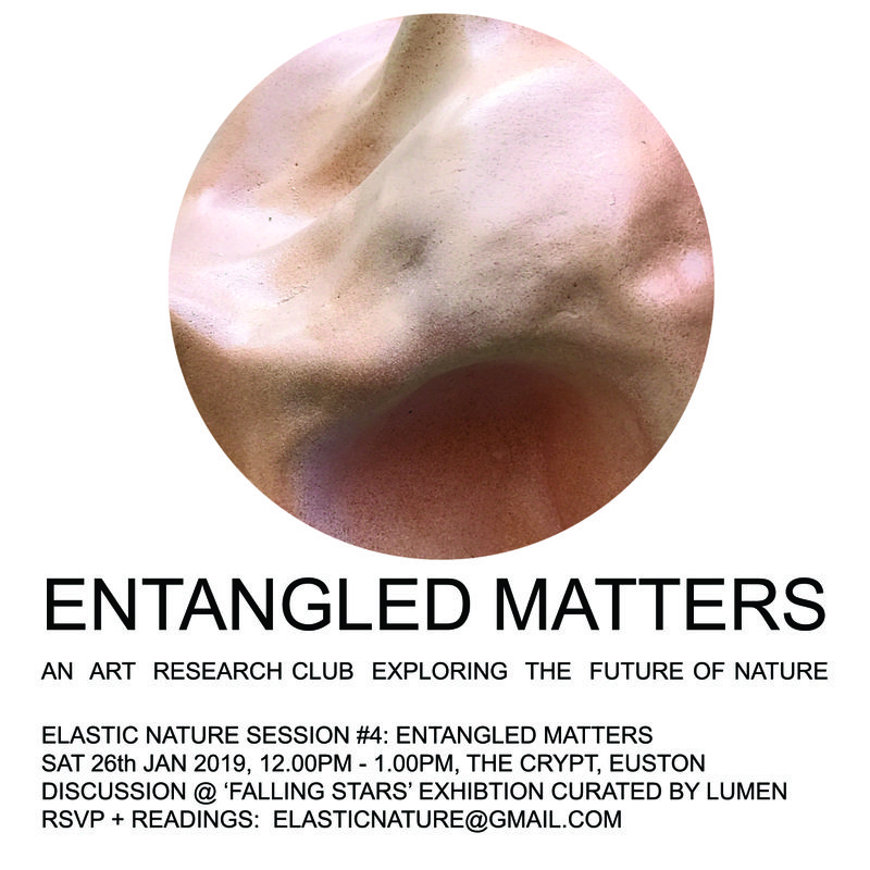 Elastic Nature #4 - Entangled Matter - Sat 26th Jan 2019 - 12pm -1pm