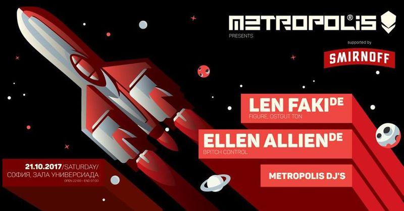 Metropolis pres. Ellen Allien, Len Faki, Metropolis Dj's