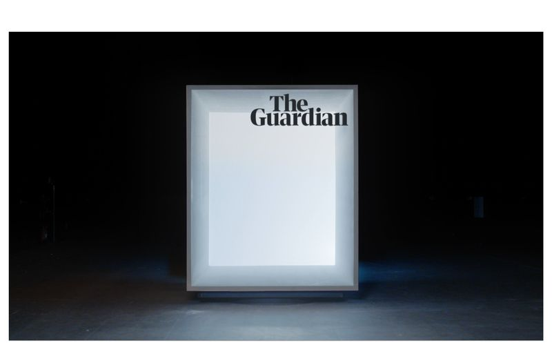 The Guardian Cinema Advert 2018