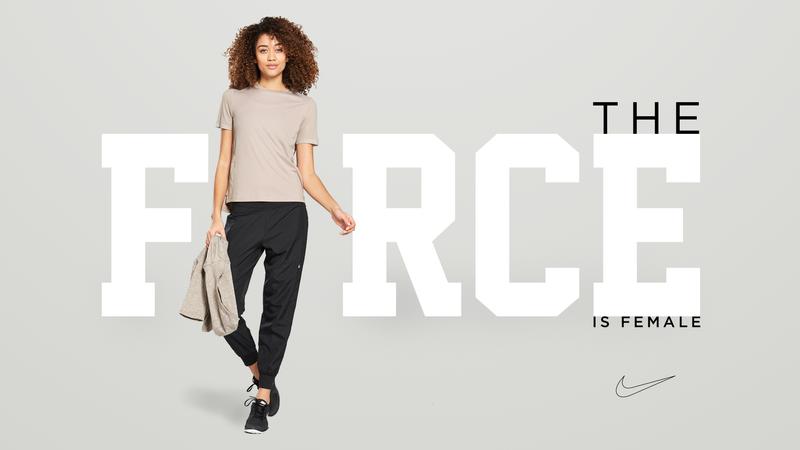 """Nike """"Force is Female"""" Ad"""