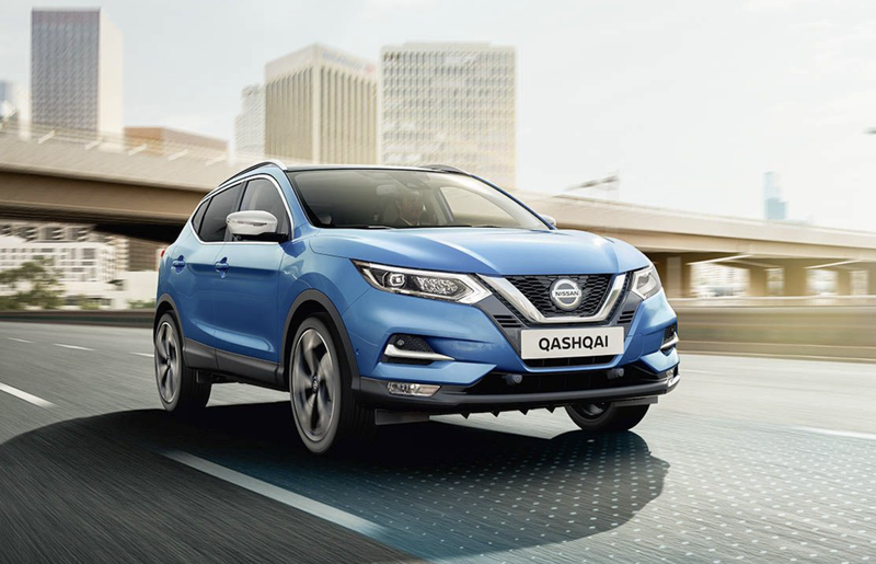 NISSAN QASHQAI with new HR13 ENGINE