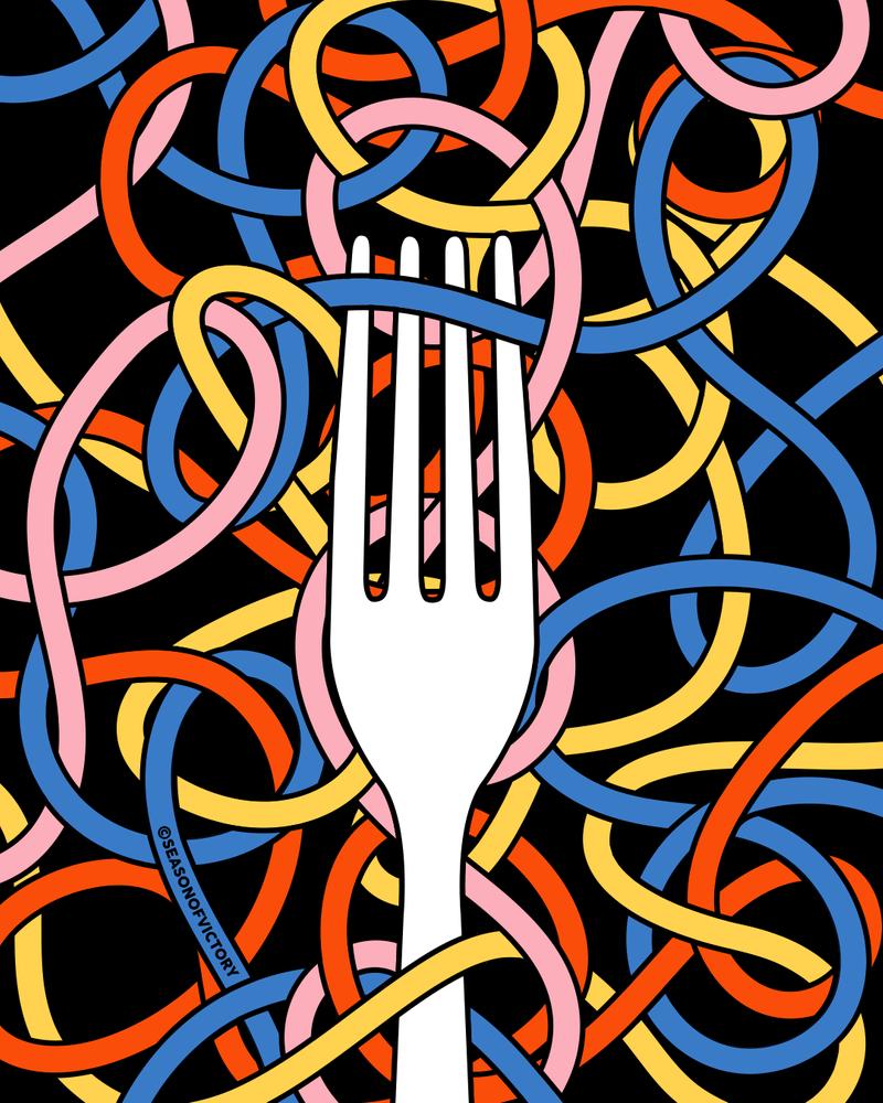 Restaurant - Installation Graphics