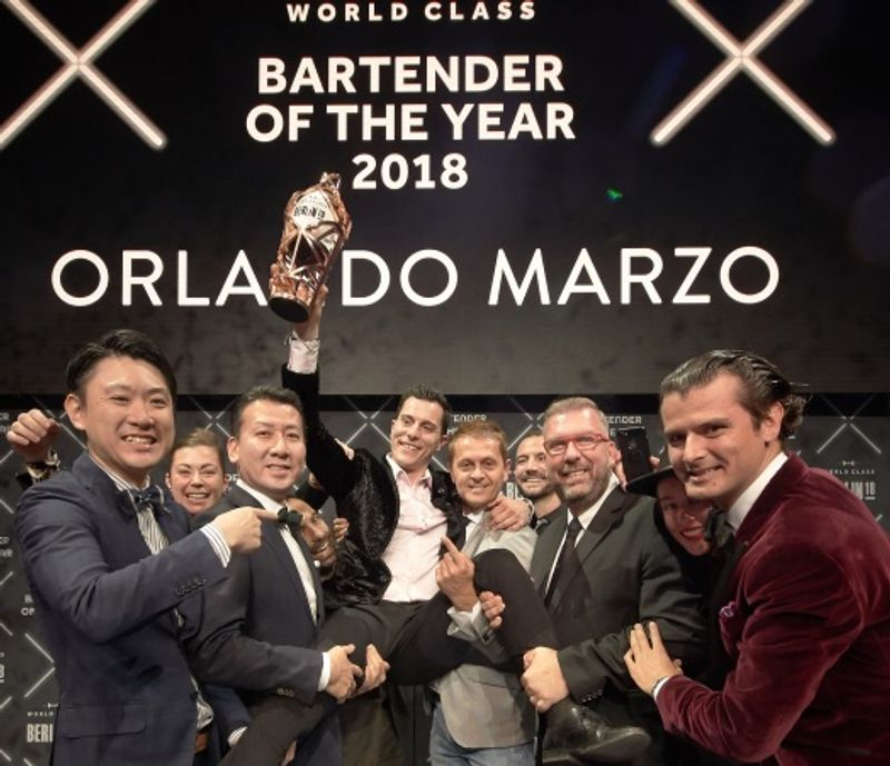 Diageo World Class Bartender of the Year 2018