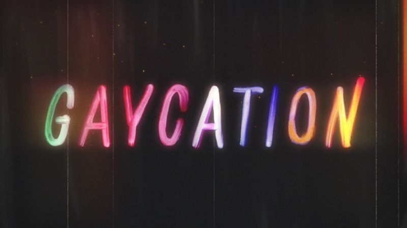 Viceland's Gaycation—Title Sequence & In-Show Graphics