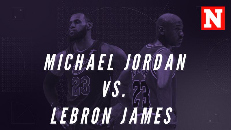 Michael Jordan vs. Lebron James - Who Is The GOAT?