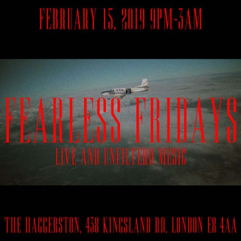 Event: Fearless Fridays-15th February 2019