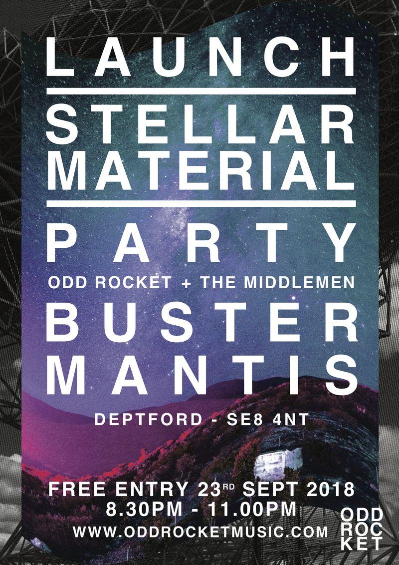 ODD ROCKET - STELLAR MATERIAL 2018