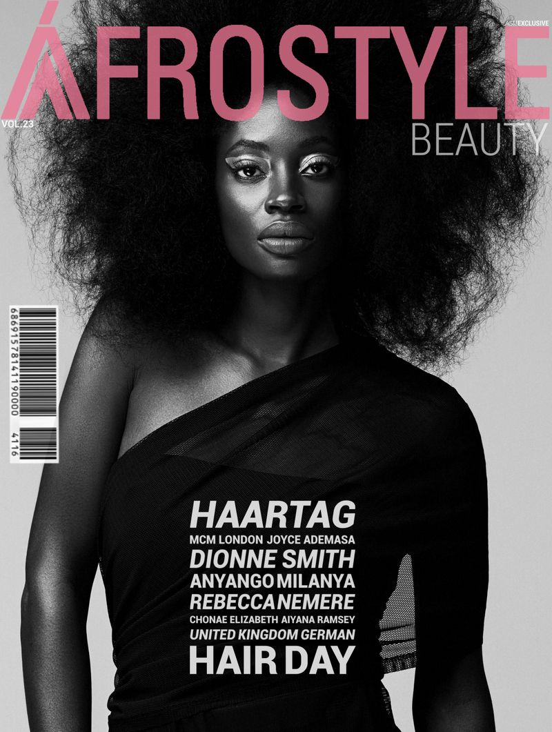 Afrostyle Magazine January Cover ft Rebecca Nemere