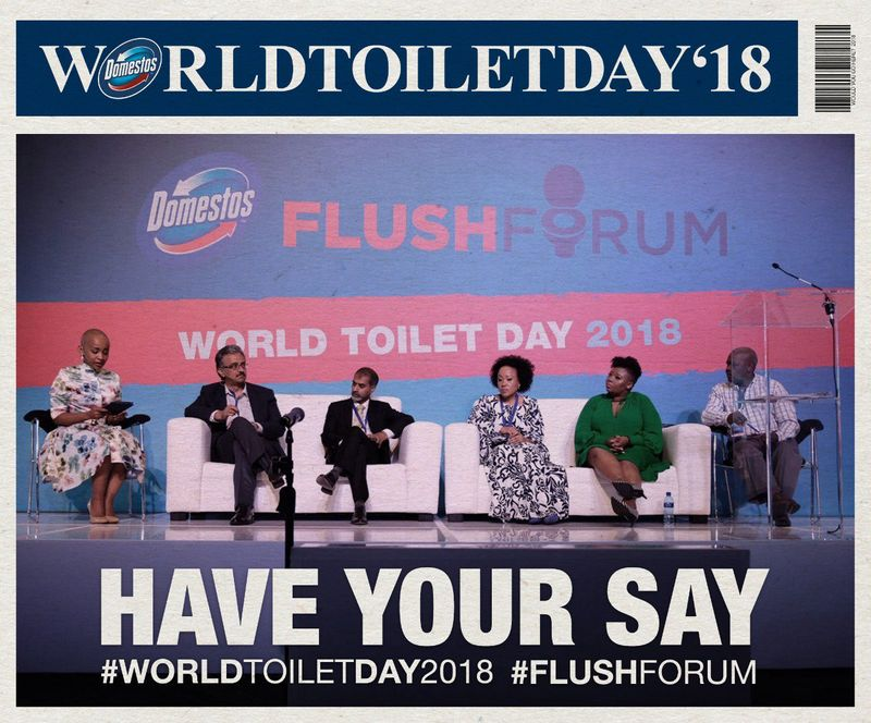 Domestos World Toilet Day Flush Forum