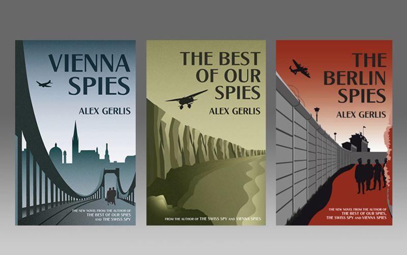 Alex Gerlis' book covers