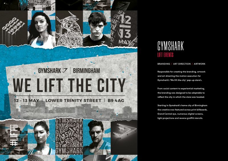 Gymshark - We Lift The City