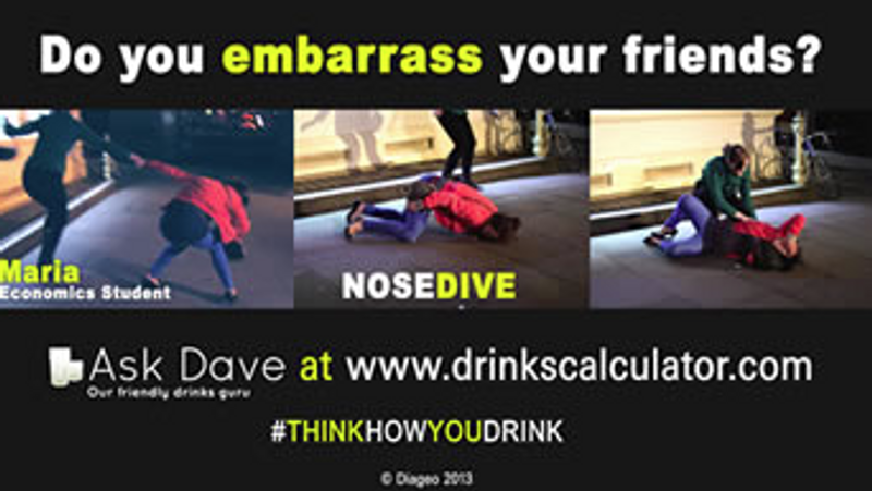Diageo - Think How You Drink campaign