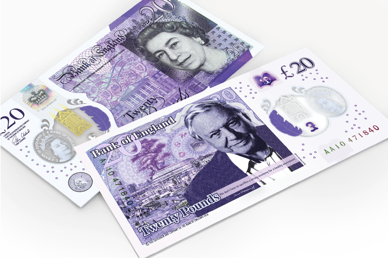 £20 NOTE REDESIGN