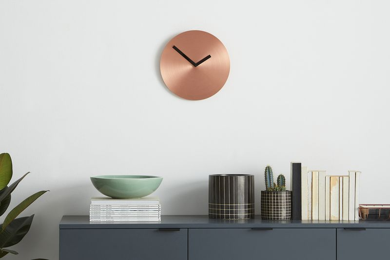 Sunny wall clock. Made.com. David Weatherhead