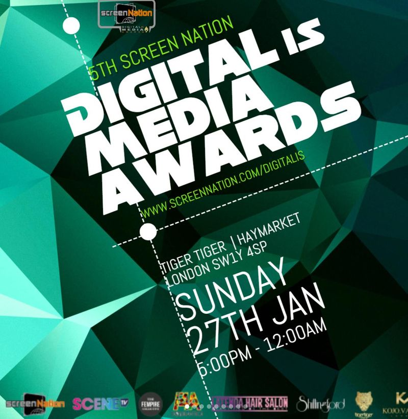 Screen Nation Digital Is Media Awards
