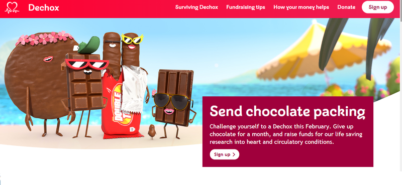 Dechox- Giving up Chocolate