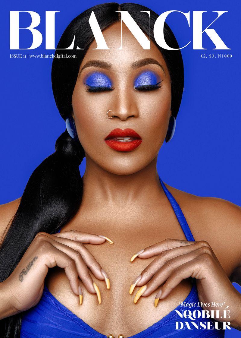 Blanck Cover shoot Ft. Nqobile Danseur