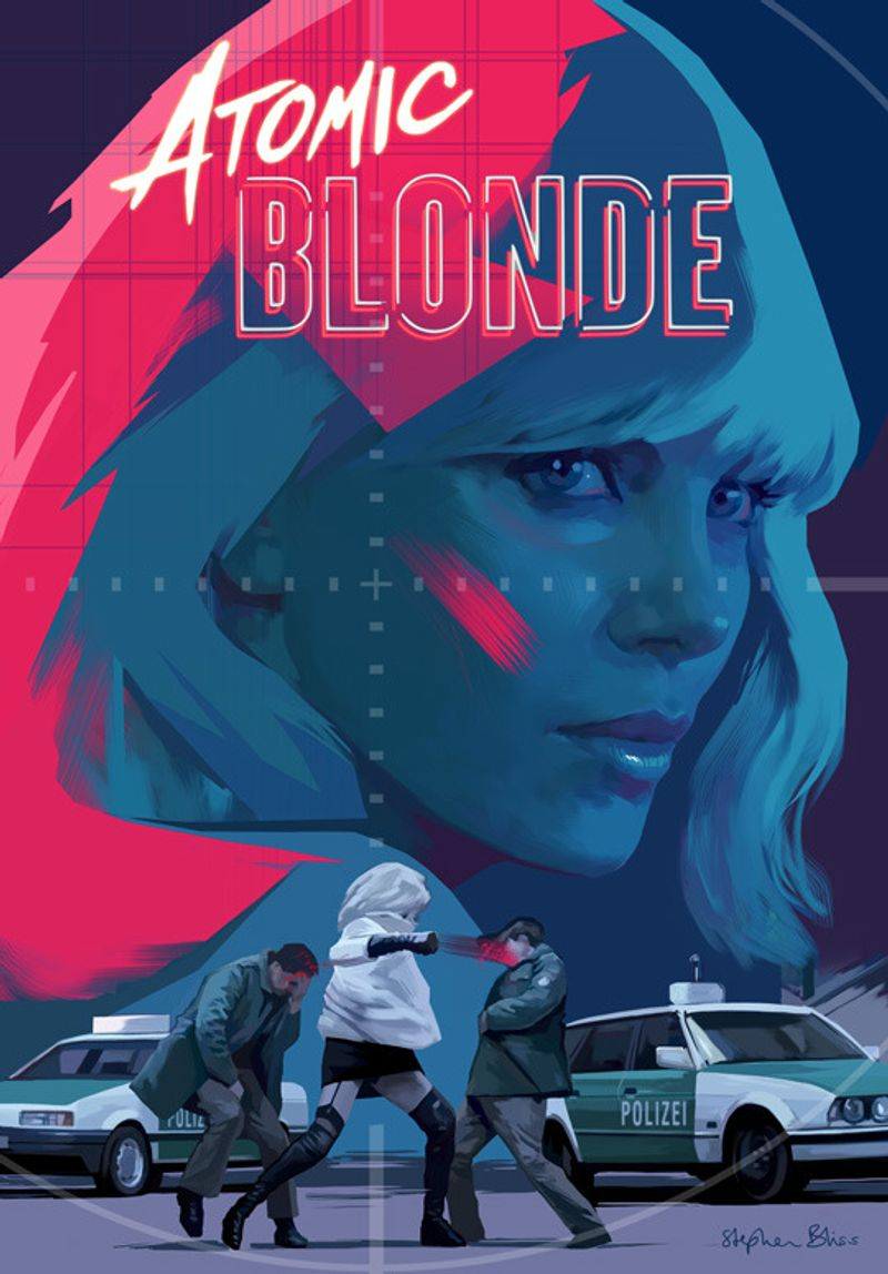 Atomic Blonde on Tumblr